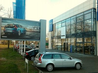 salon samochodowy w Olsztynie